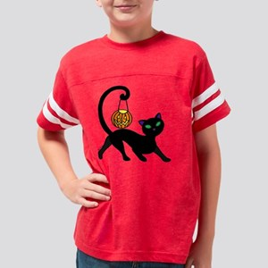 Cat-o-Lantern Youth Football Shirt