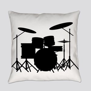 Drum Kit Everyday Pillow