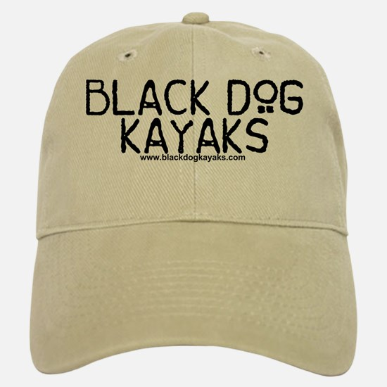 Black Dog Kayaks Old School Baseball Baseball Cap