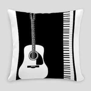 Guitar Piano Duo Everyday Pillow