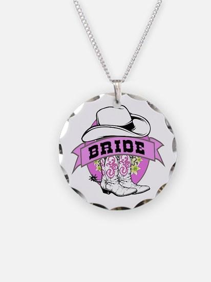 Cowgirl Bride Necklace