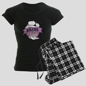 Cowgirl Bride Women's Dark Pajamas