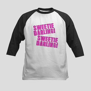 Sweetie Darling! Kids Baseball Jersey