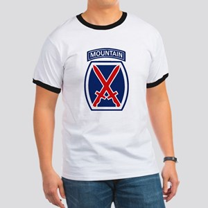10th Mountain Division Ringer T
