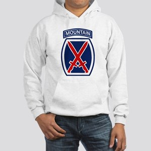 10th Mountain Division Hooded Sweatshirt
