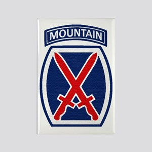 10th Mountain Division Rectangle Magnet
