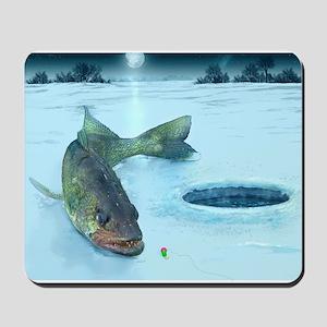 Walleye Ice Mousepad