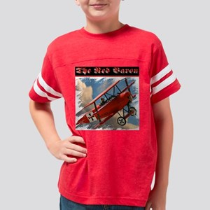 Red Baron ft Youth Football Shirt