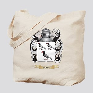 Nani Coat of Arms (Family Crest) Tote Bag