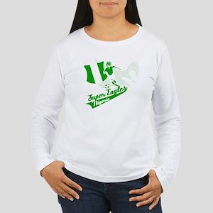 Nigerian Super Eagles Women's Long Sleeve T-Shirt