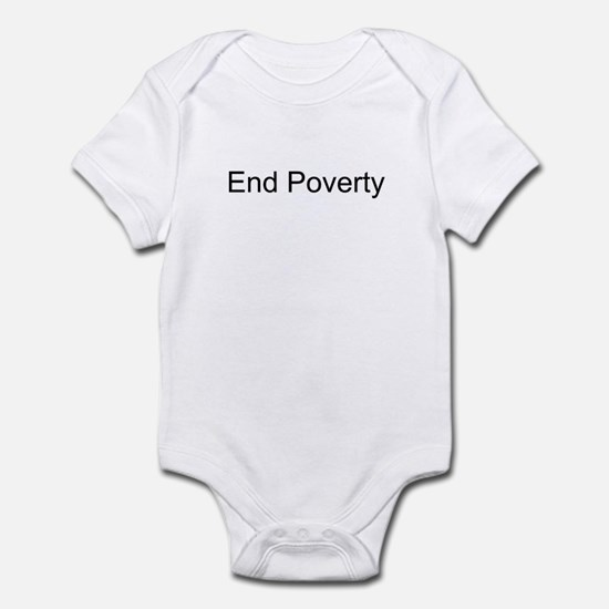 End Poverty T-Shirts and Appa Infant Bodysuit
