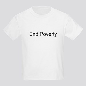 End Poverty T-Shirts and Appa Kids T-Shirt