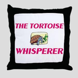 The Tortoise Whisperer Throw Pillow