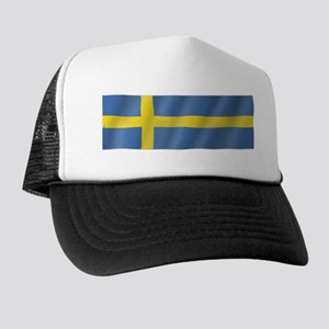 Pure Flag of Sweden Trucker Hat