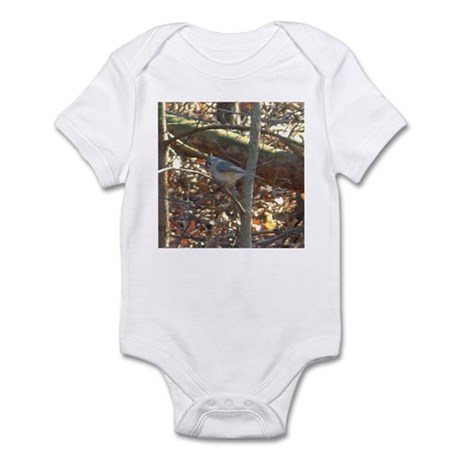 tufted titmouse Infant Bodysuit