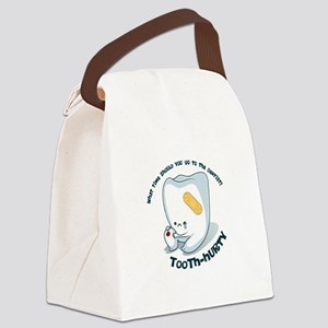 Tooth-Hurty - Dark Text Canvas Lunch Bag