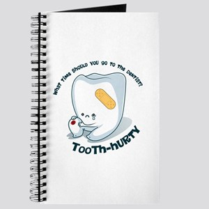 Tooth-Hurty - Dark Text Journal