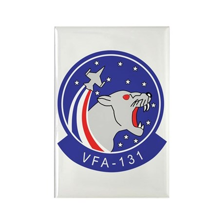 VFA-131 Wildcats Rectangle Magnet (100 pack)