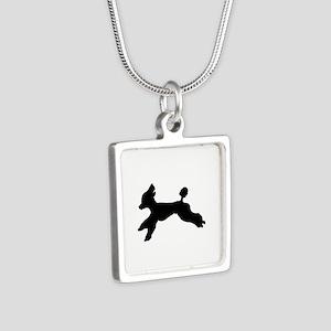 Standard Poodle Running Necklaces