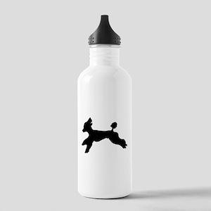 Standard Poodle Running Water Bottle