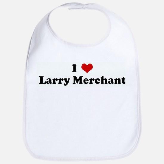 I Love Larry Merchant Bib
