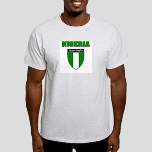 Nigerian soccer tees Ash Grey T-Shirt