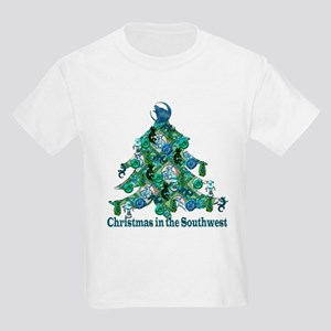 Christmas in the Southwest Kids T-Shirt