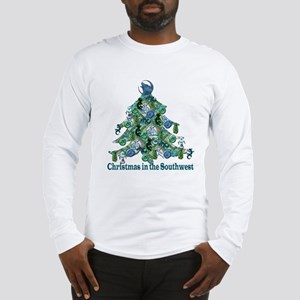 Christmas in the Southwest Long Sleeve T-Shirt