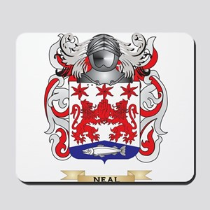 Neal Coat of Arms (Family Crest) Mousepad