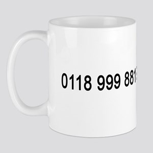 IT Crowd Emergency Services Mug