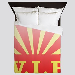 VIP sunburst Queen Duvet
