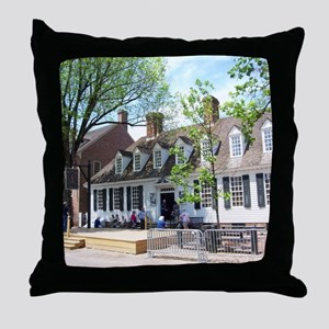 RALIGH TAVERN COLONIAL WILLIAMSBURG Throw Pillow