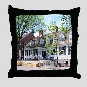 RALIGH TAVERN COLONIAL WILLIAMSBURG Throw Pillow
