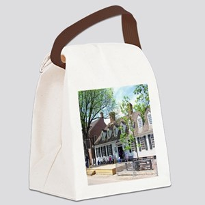 RALIGH TAVERN COLONIAL WILLIAMSBU Canvas Lunch Bag
