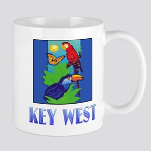 Macaw, Parrot, Butterfly, Jungle KEY WEST Mugs