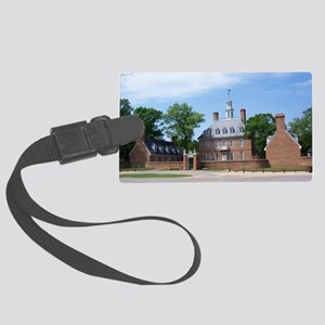 GOVORNORS PALACE COLONIAL WILLIA Large Luggage Tag
