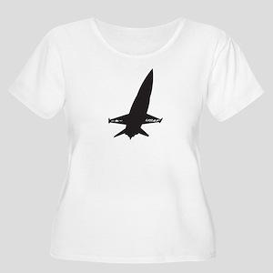 X-15 Women's Plus Size Scoop Neck T-Shirt