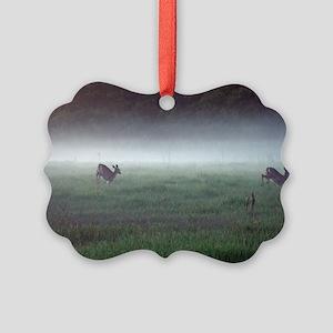 Rompin' Deer Picture Ornament