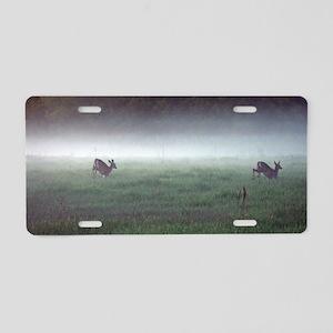 Rompin' Deer Aluminum License Plate