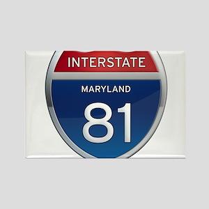 Maryland Interstate 81 Magnets