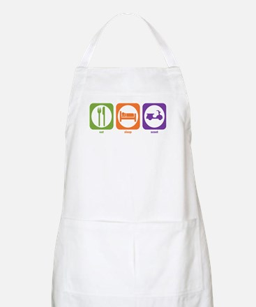 Eat Sleep Scoot BBQ Apron