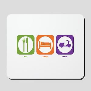 Eat Sleep Scoot Mousepad