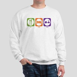 Eat Sleep Scoot Sweatshirt