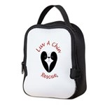 Luv A Chin Logo Neoprene Lunch Bag