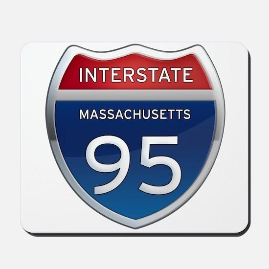 Massachusetts Interstate 95 Mousepad