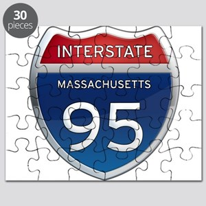 Massachusetts Interstate 95 Puzzle
