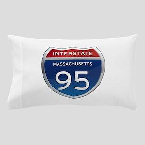 Massachusetts Interstate 95 Pillow Case