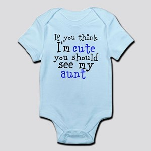 If You Think I'm Cute (Custom Body Suit
