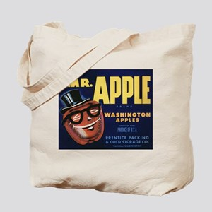 Vintage Fruit Vegetable Crate Label Tote Bag