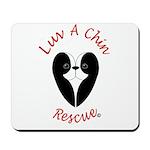 Luv A Chin Logo Mousepad